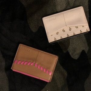Fossil card holders